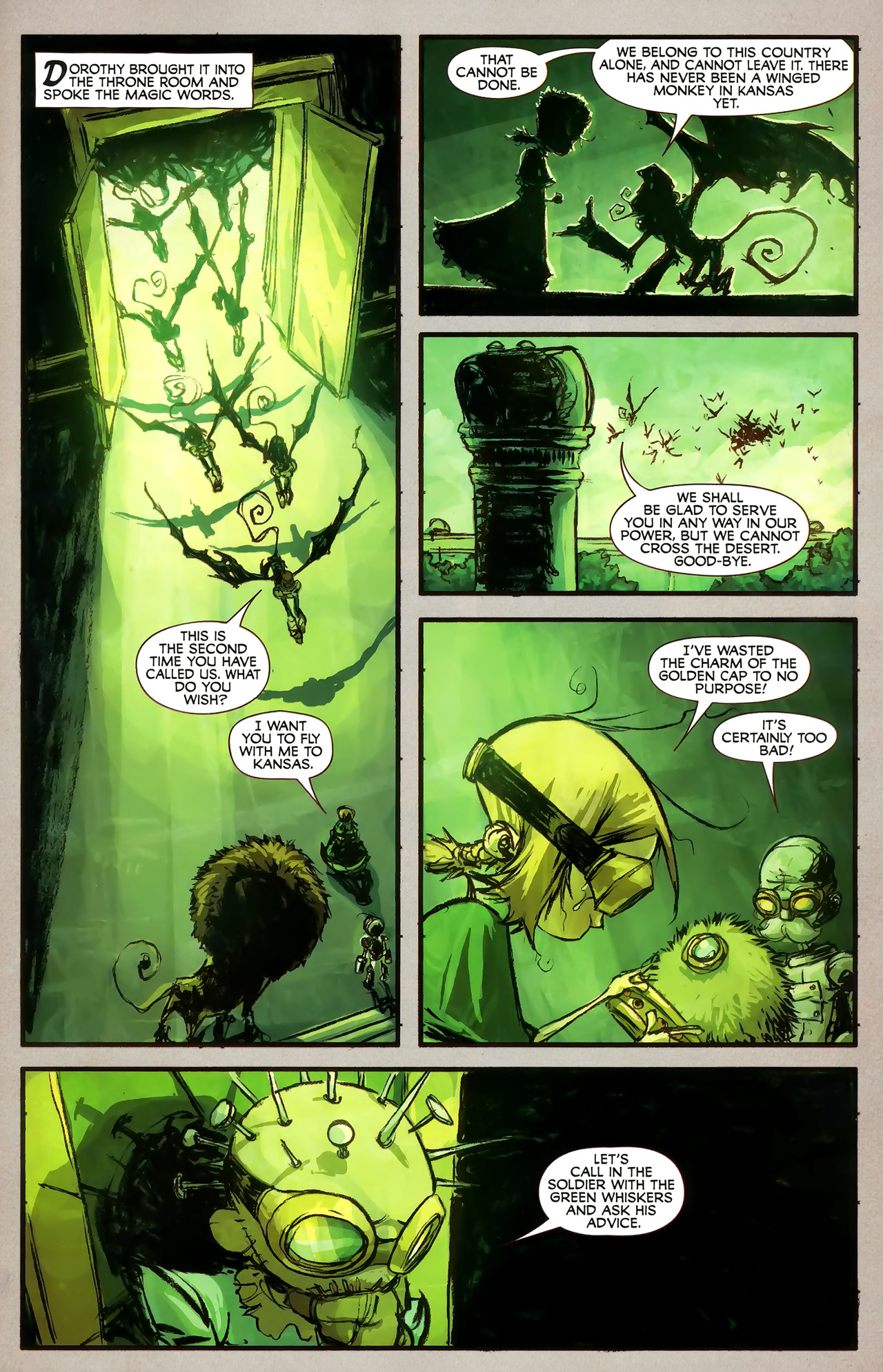 Read online The Wonderful Wizard of Oz comic -  Issue #7 - 16