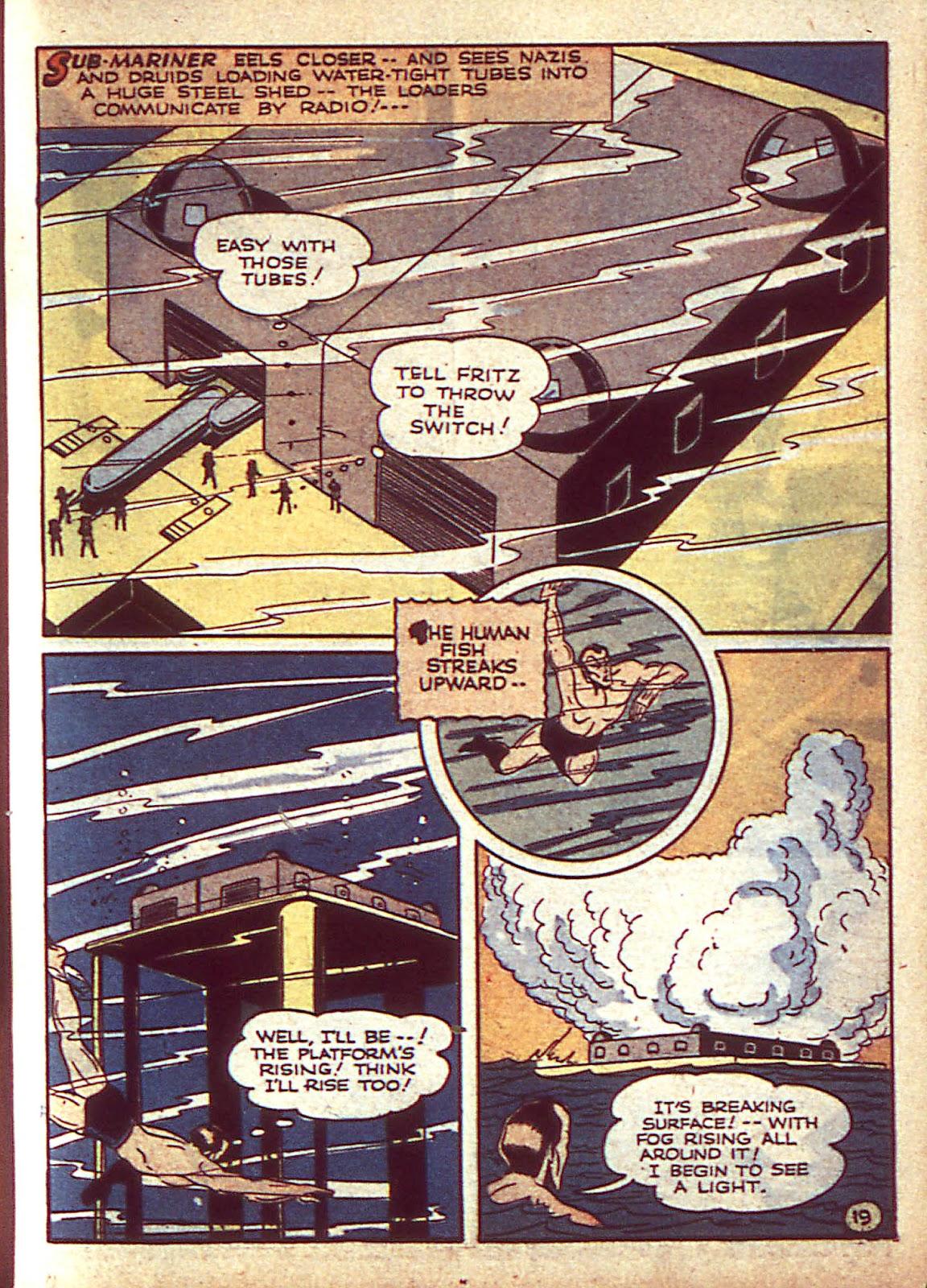 Sub-Mariner Comics Issue #3 #3 - English 22