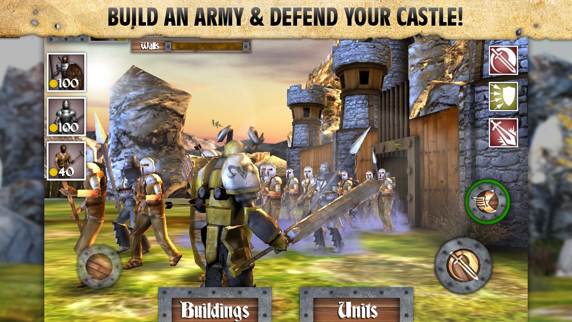 Heroes and Castles для андроид
