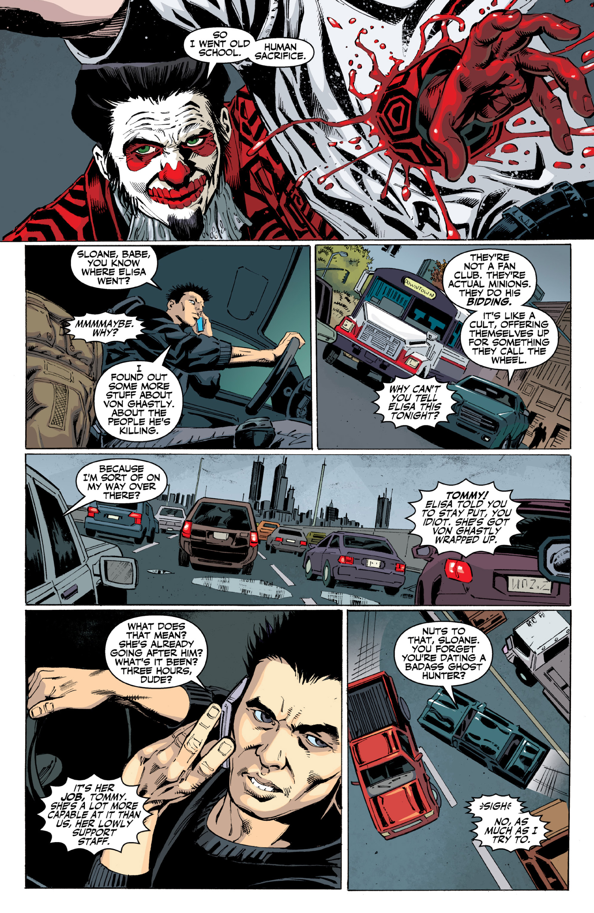 Read online Ghost (2013) comic -  Issue # TPB 2 - 35