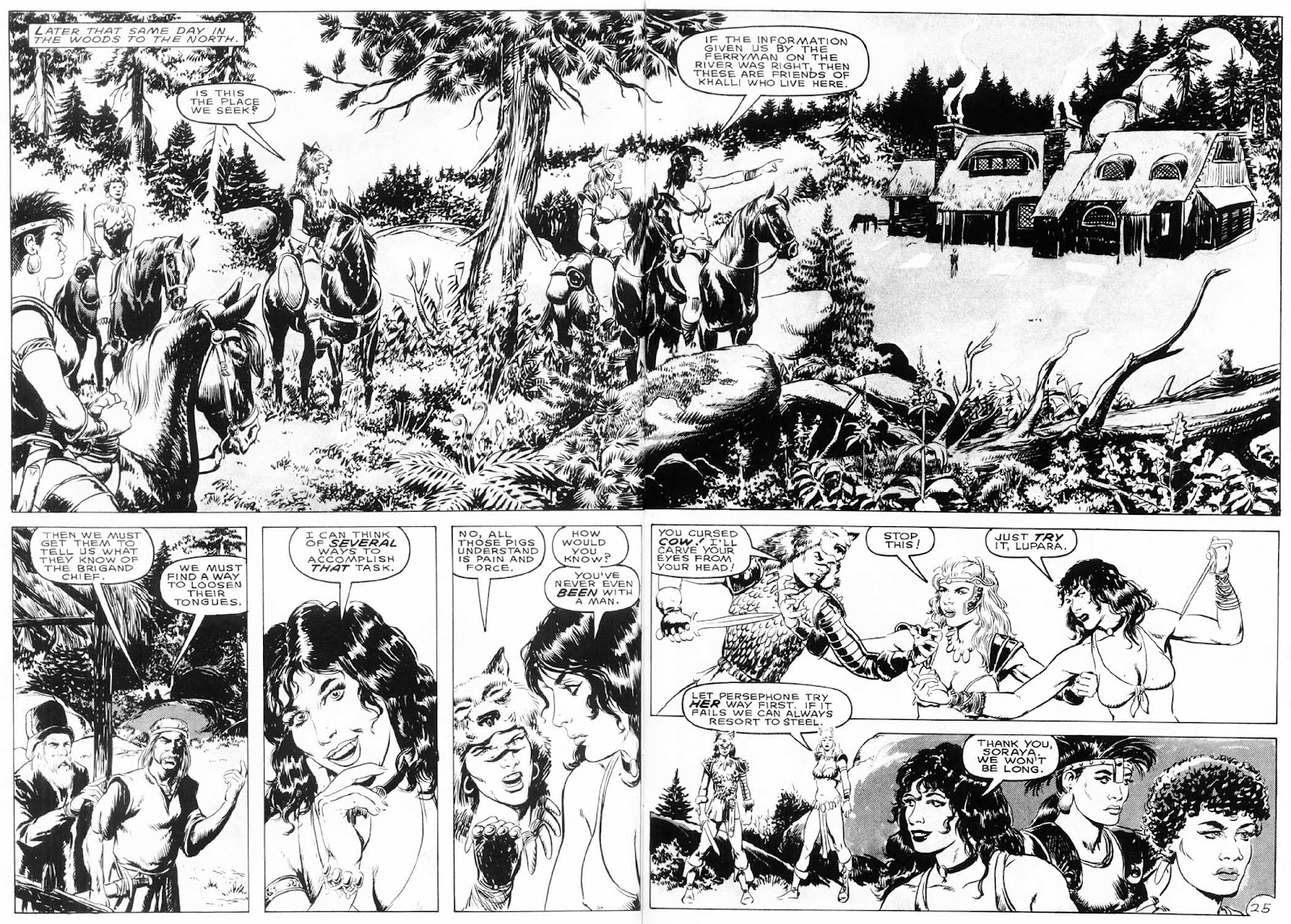 The Savage Sword Of Conan Issue #154 #155 - English 27