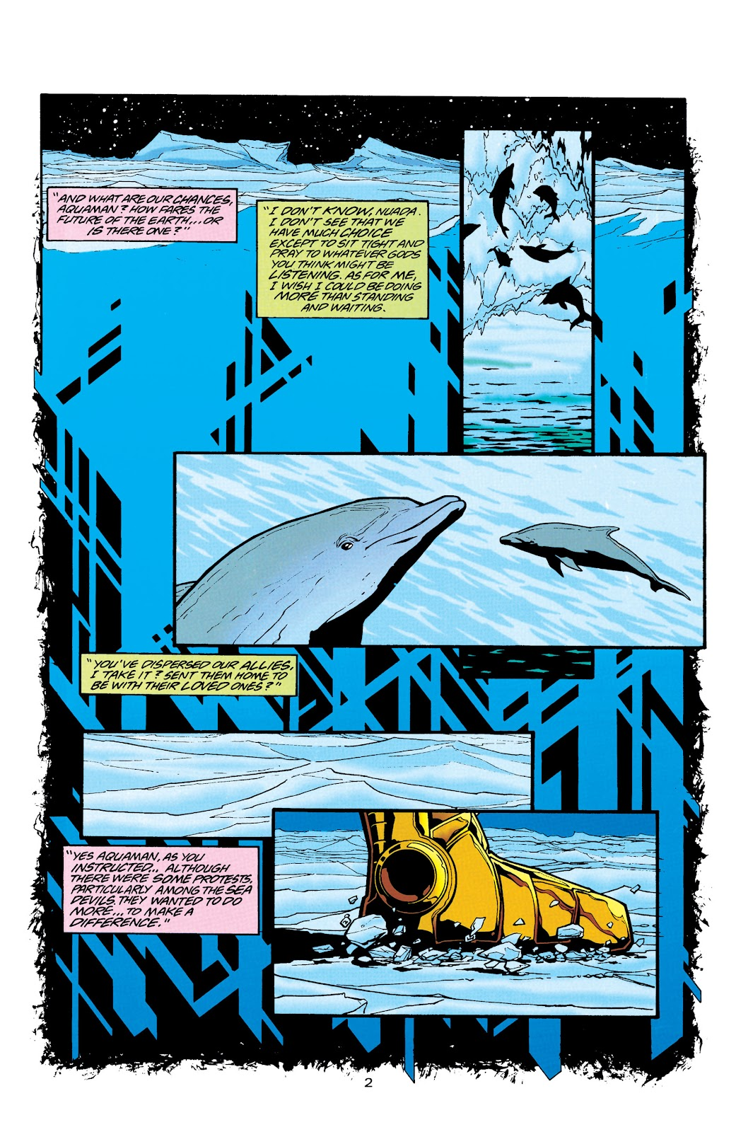 Aquaman (1994) Issue #26 #32 - English 3