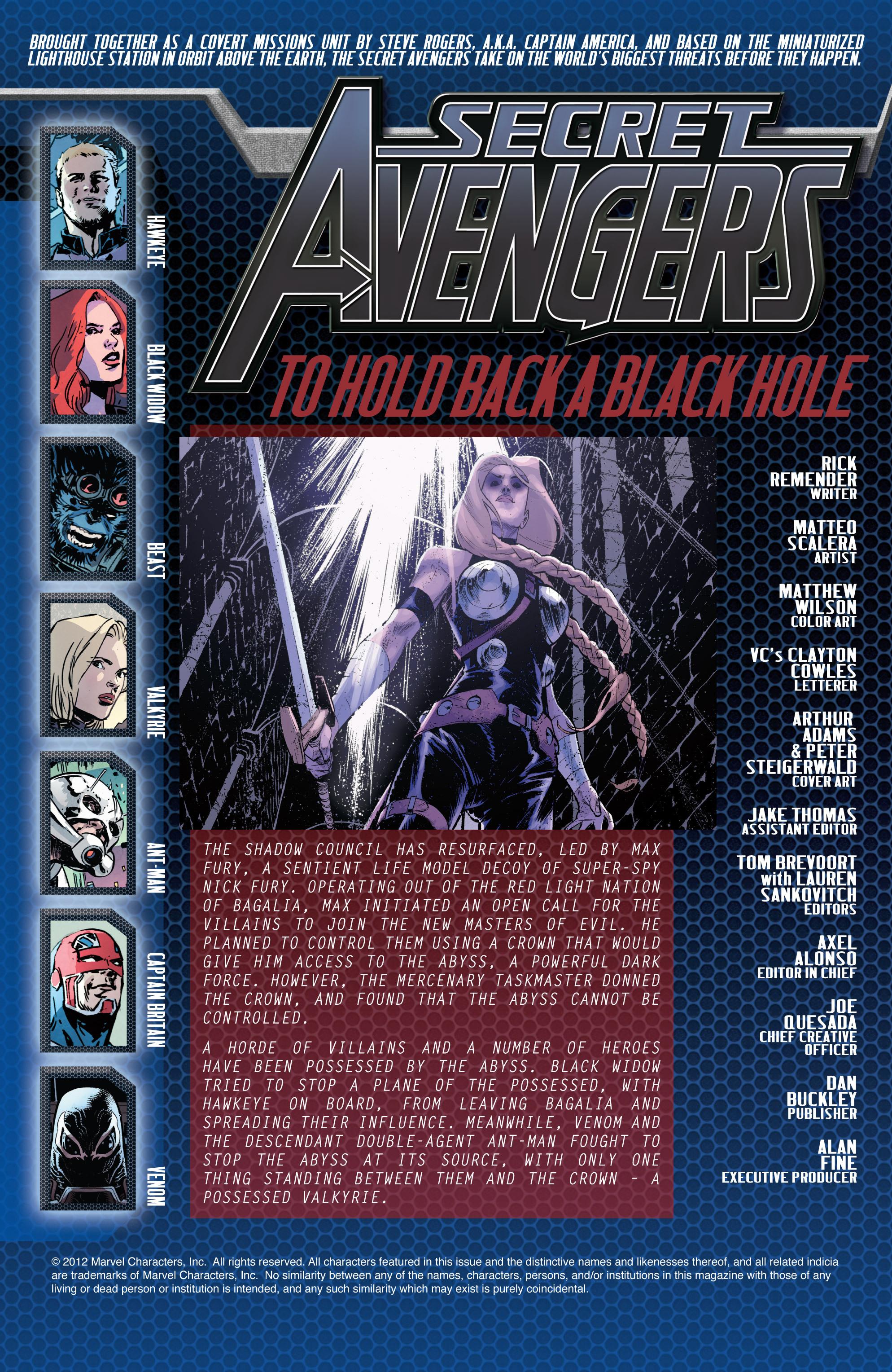 Read online Secret Avengers (2010) comic -  Issue #32 - 2