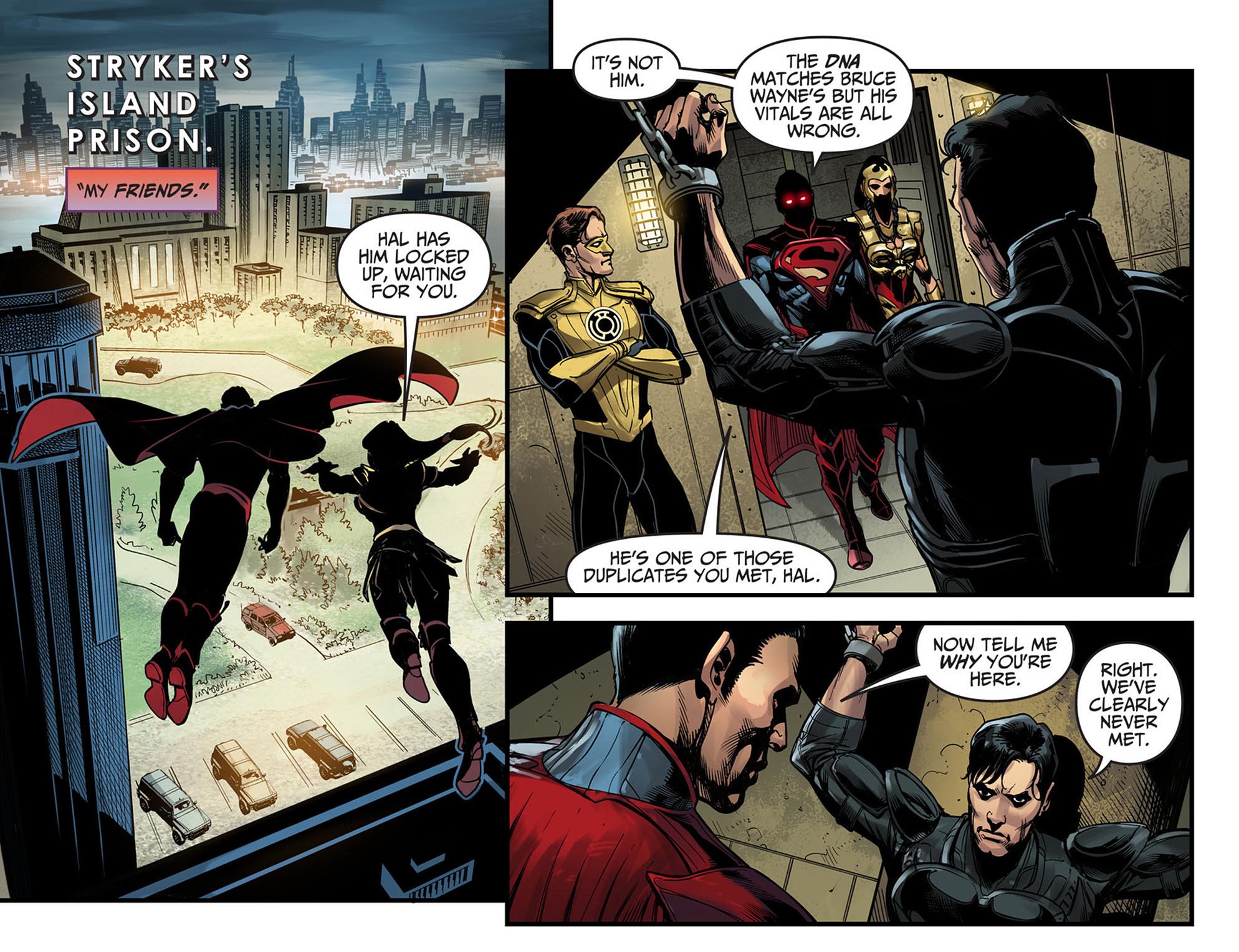 Read online Injustice: Ground Zero comic -  Issue #6 - 20