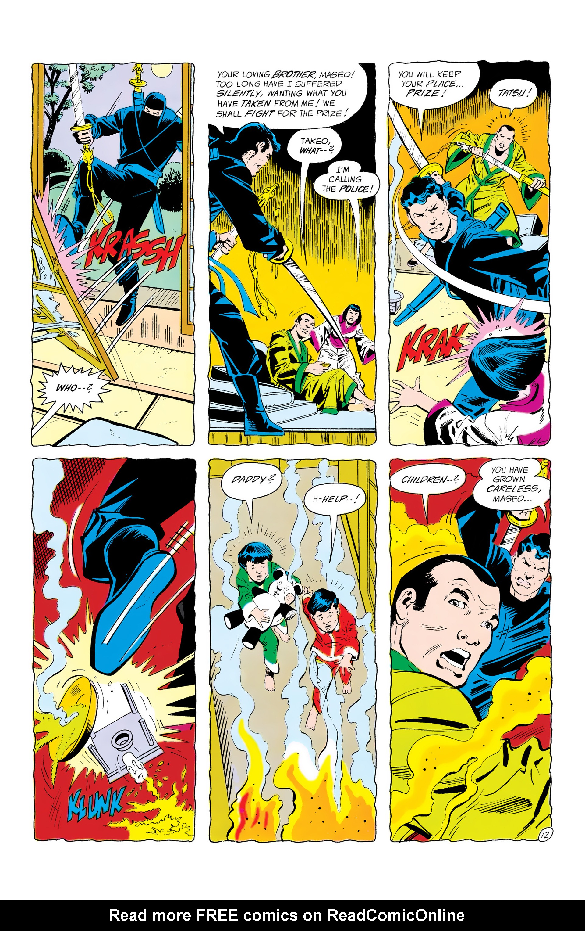 Batman and the Outsiders (1983) 12 Page 12