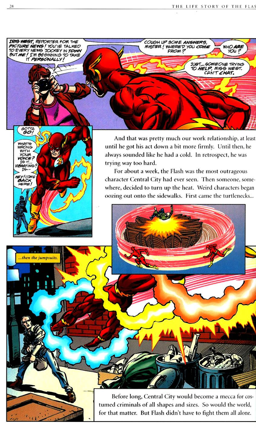 Read online The Life Story of the Flash comic -  Issue # Full - 30