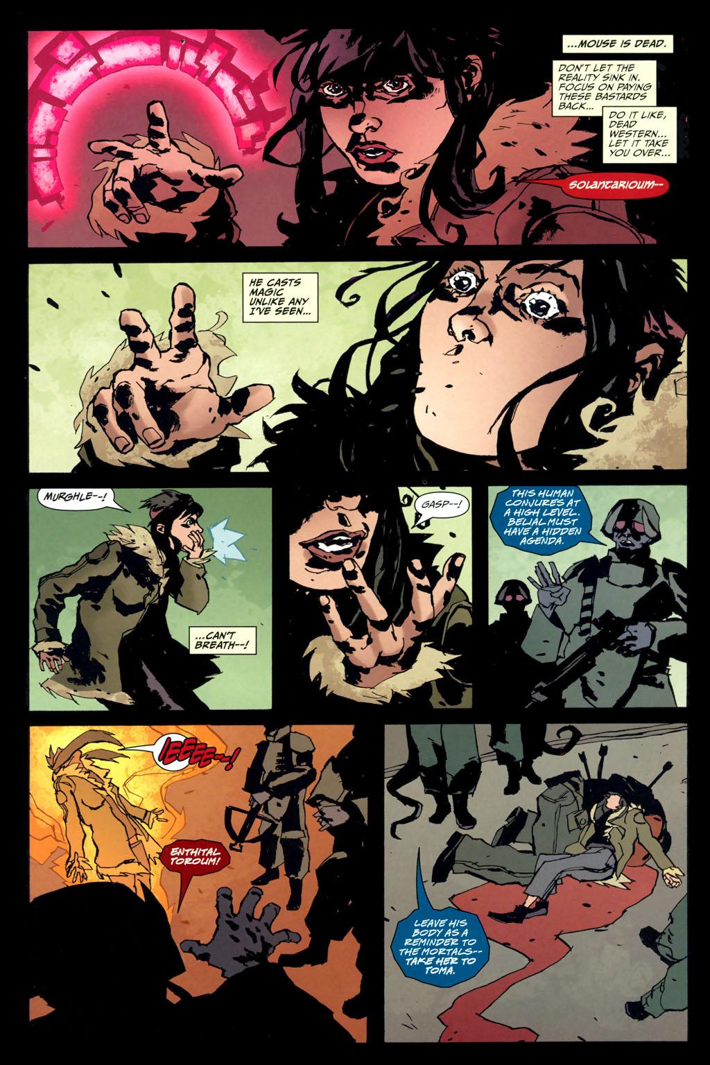 Strange Girl Issue #10 #11 - English 14