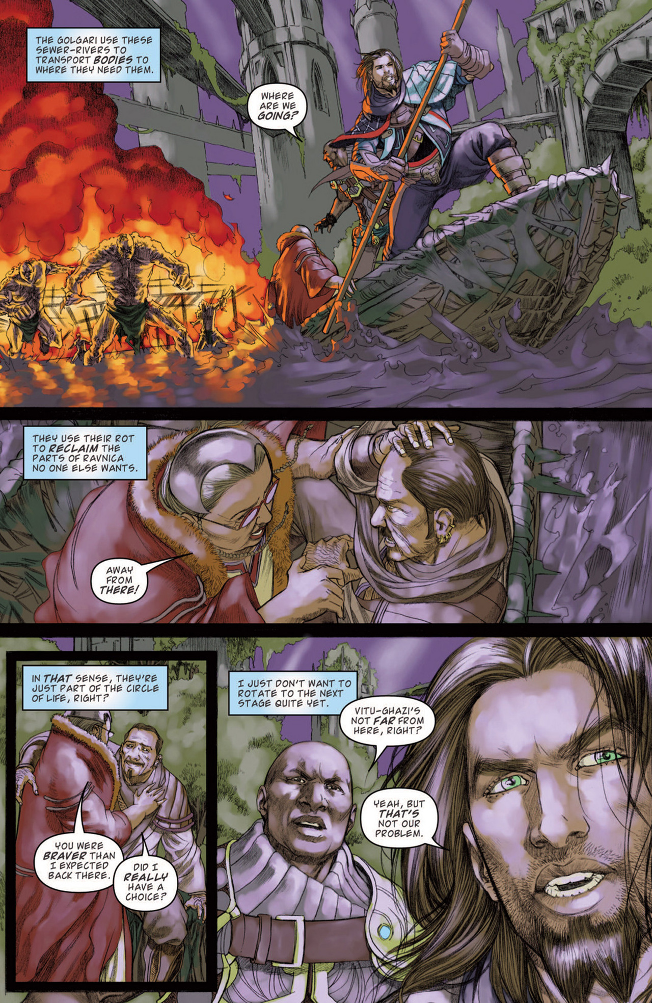 Read online Magic: The Gathering--Path of Vengeance comic -  Issue #3 - 18