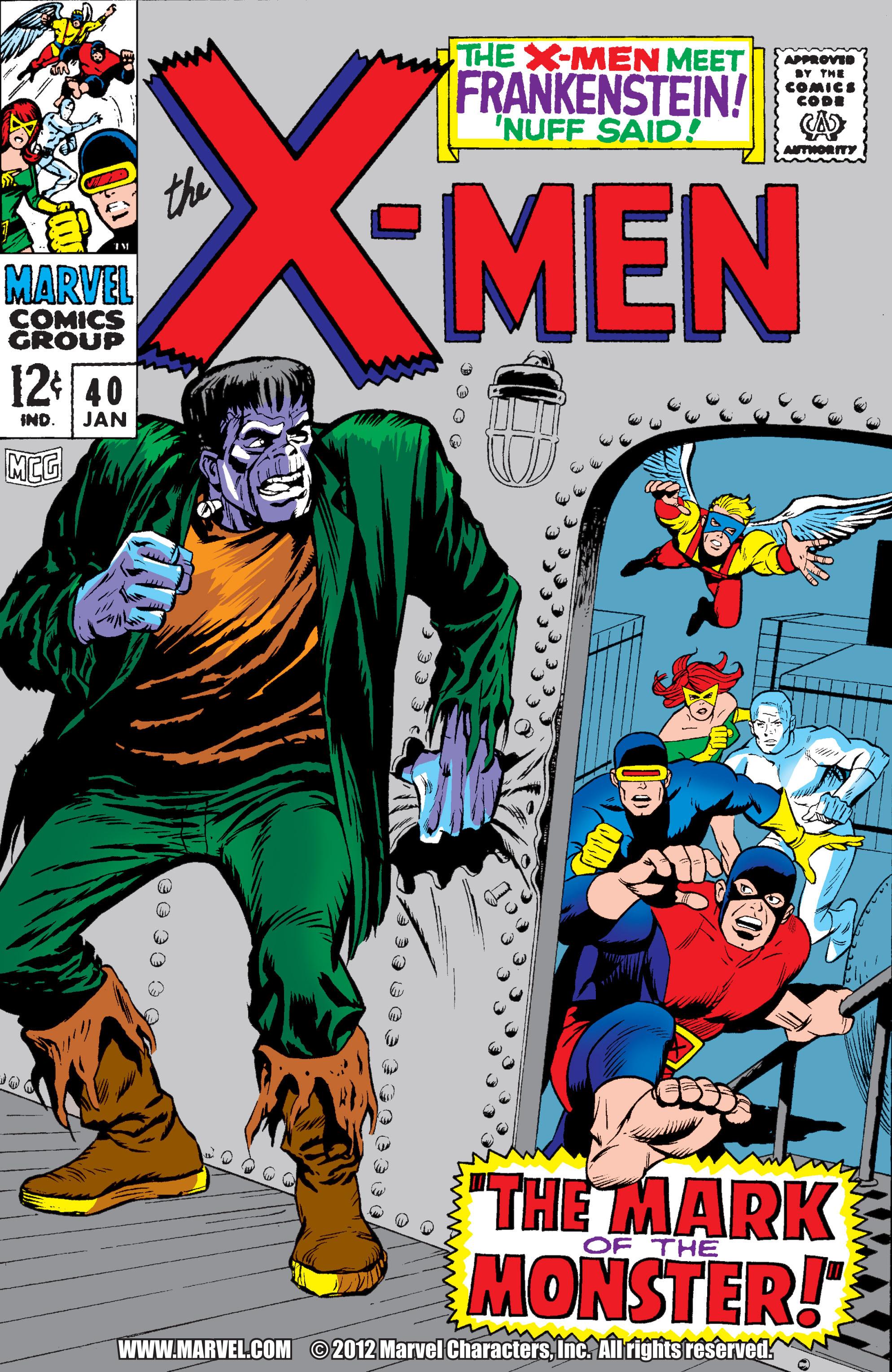 Uncanny X-Men (1963) 40 Page 1