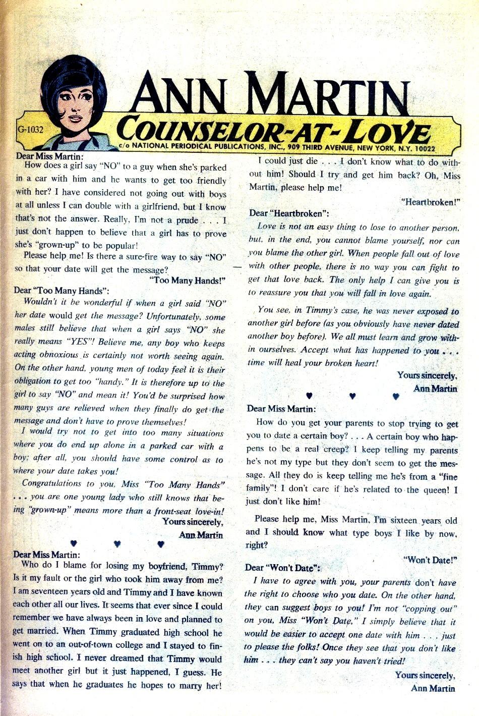 Read online Secret Hearts comic -  Issue #148 - 23