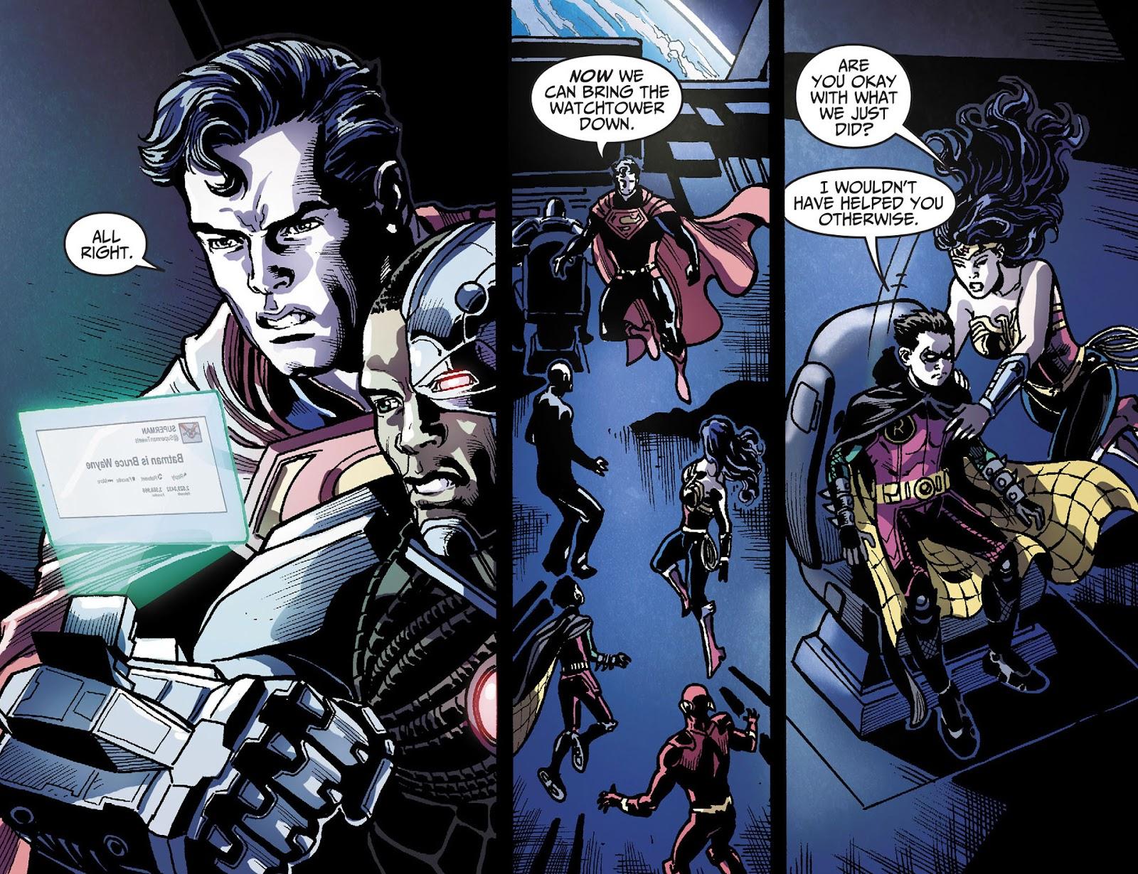 Injustice: Gods Among Us [I] Issue #28 #29 - English 17