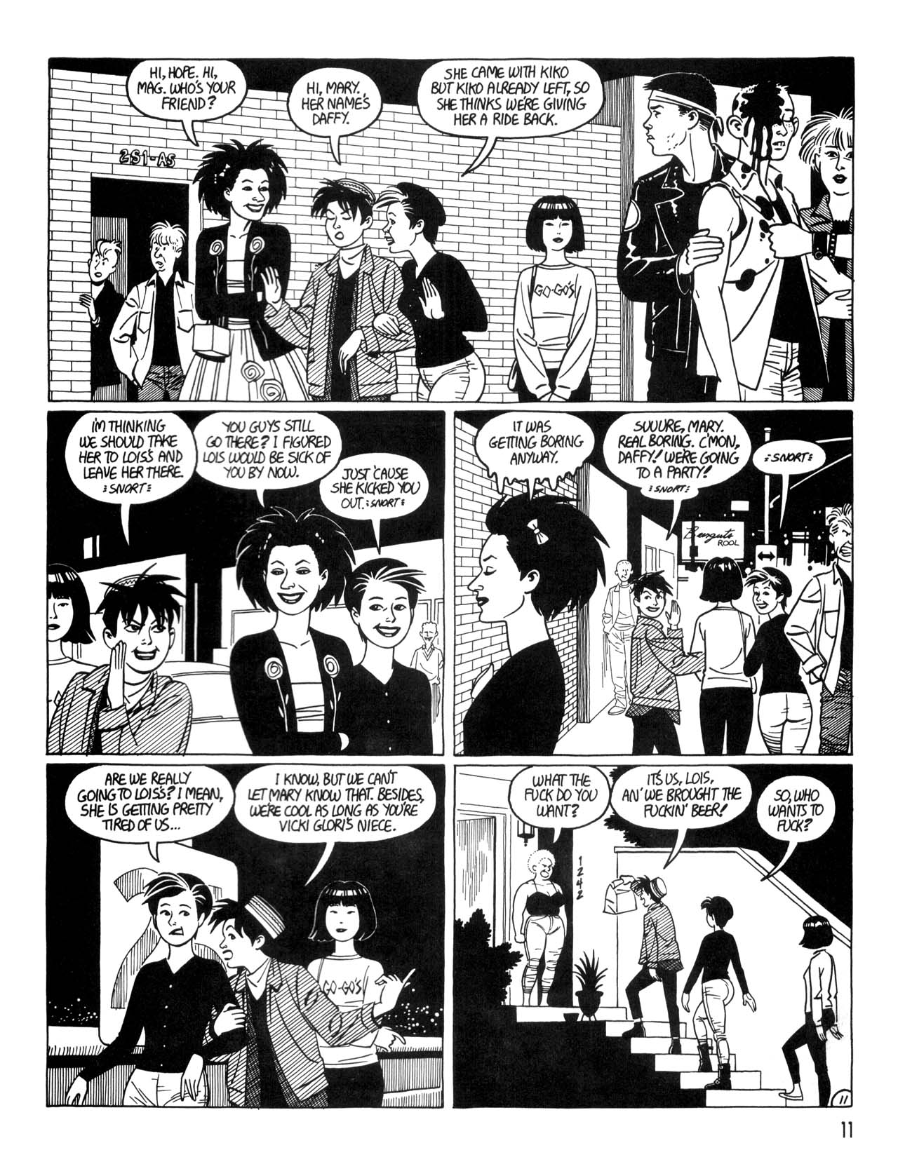 Love and Rockets (1982) #35 #35 - English 13