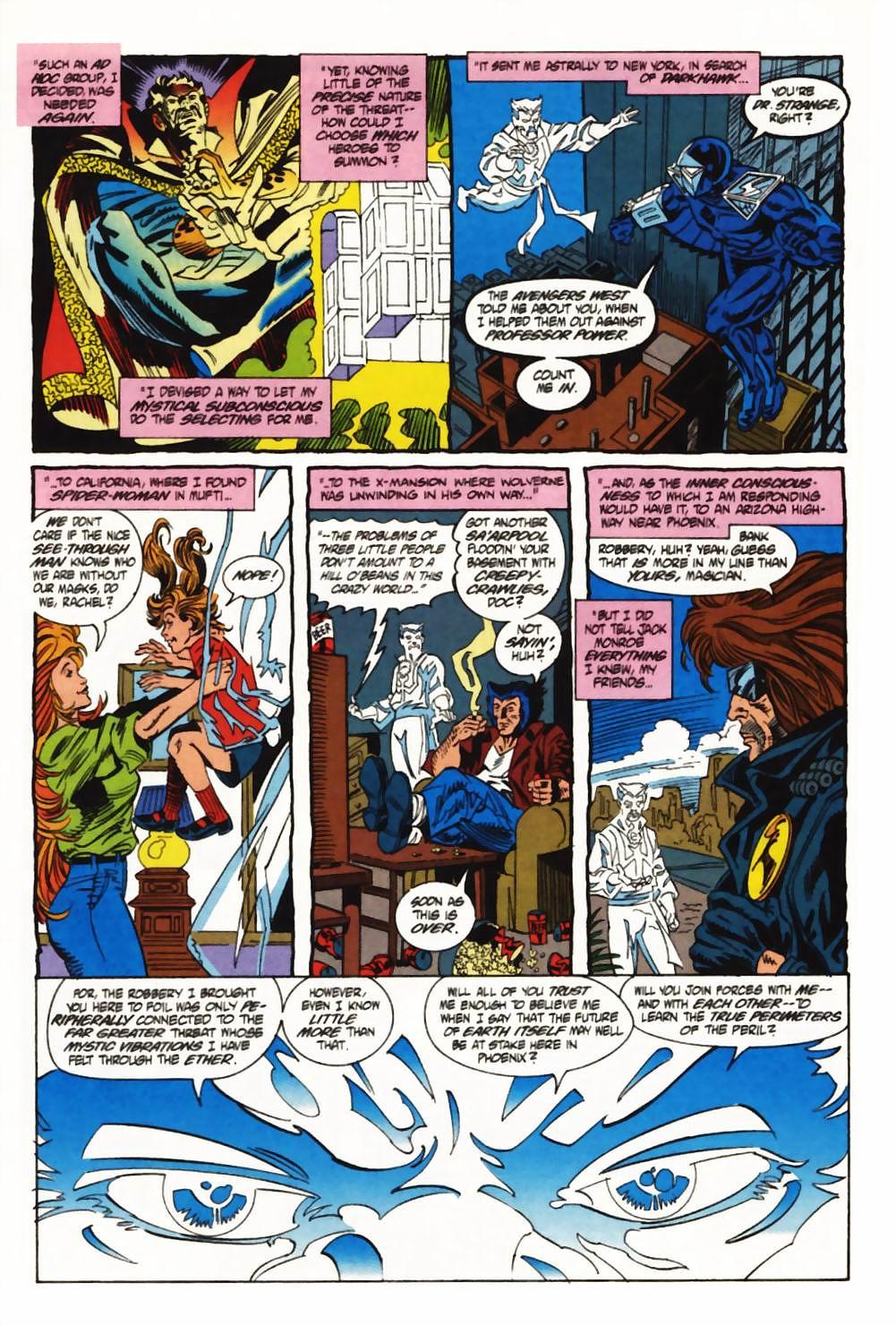 Read online Secret Defenders comic -  Issue #1 - 12