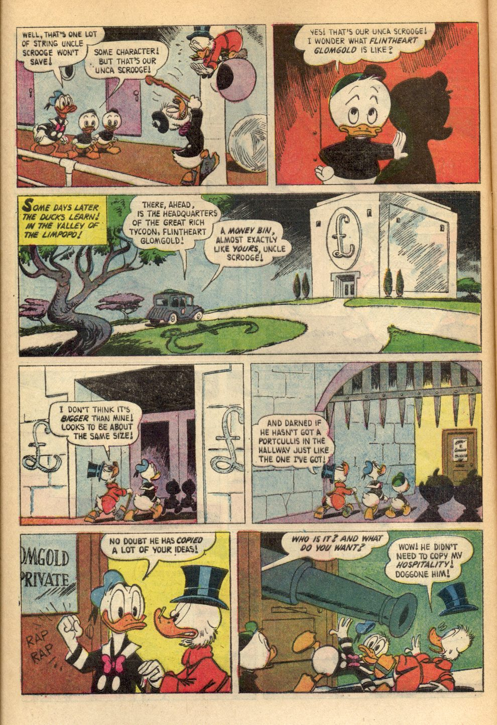 Uncle Scrooge (1953) Issue #89 #89 - English 8