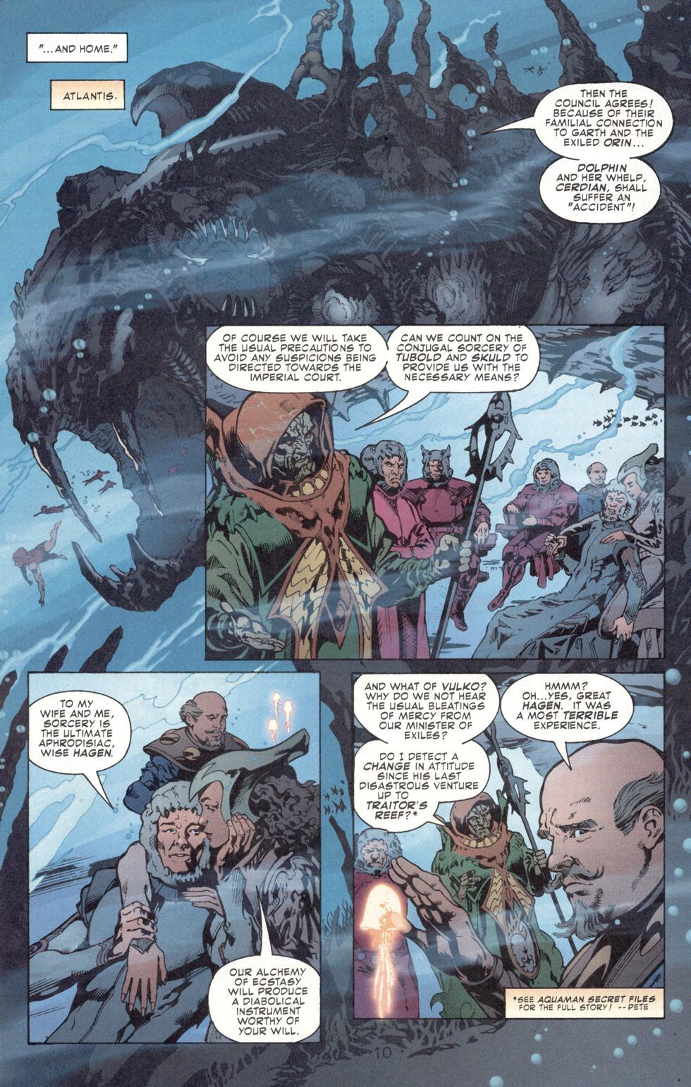 Aquaman (2003) Issue #7 #7 - English 12