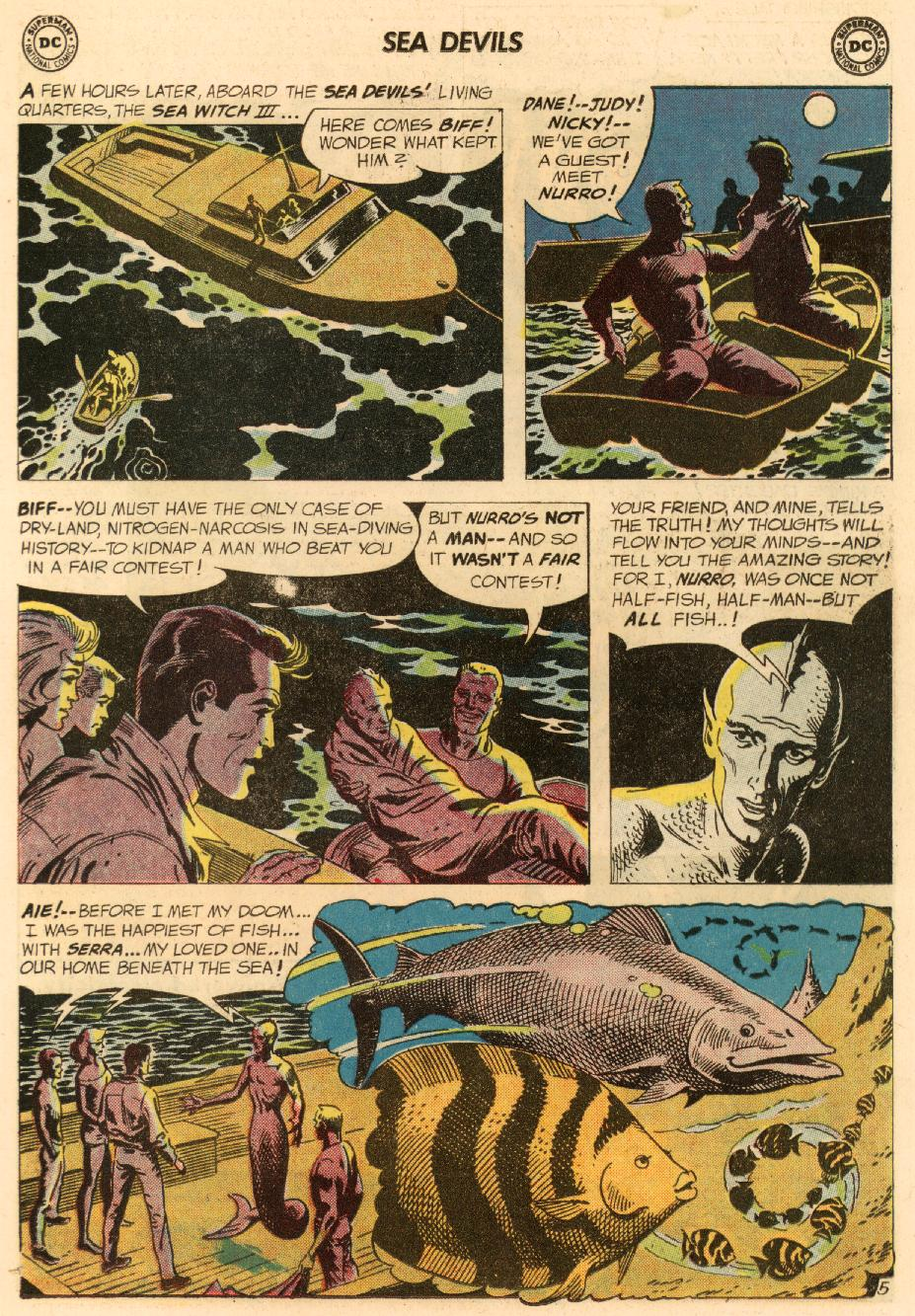 Read online Sea Devils comic -  Issue #8 - 8
