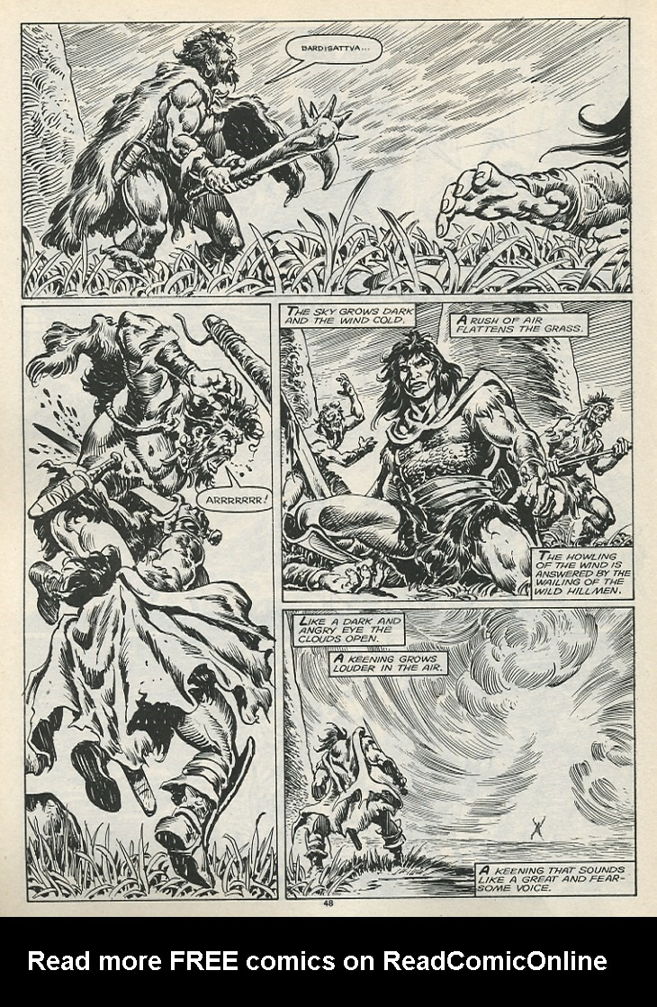 The Savage Sword Of Conan Issue #178 #179 - English 50