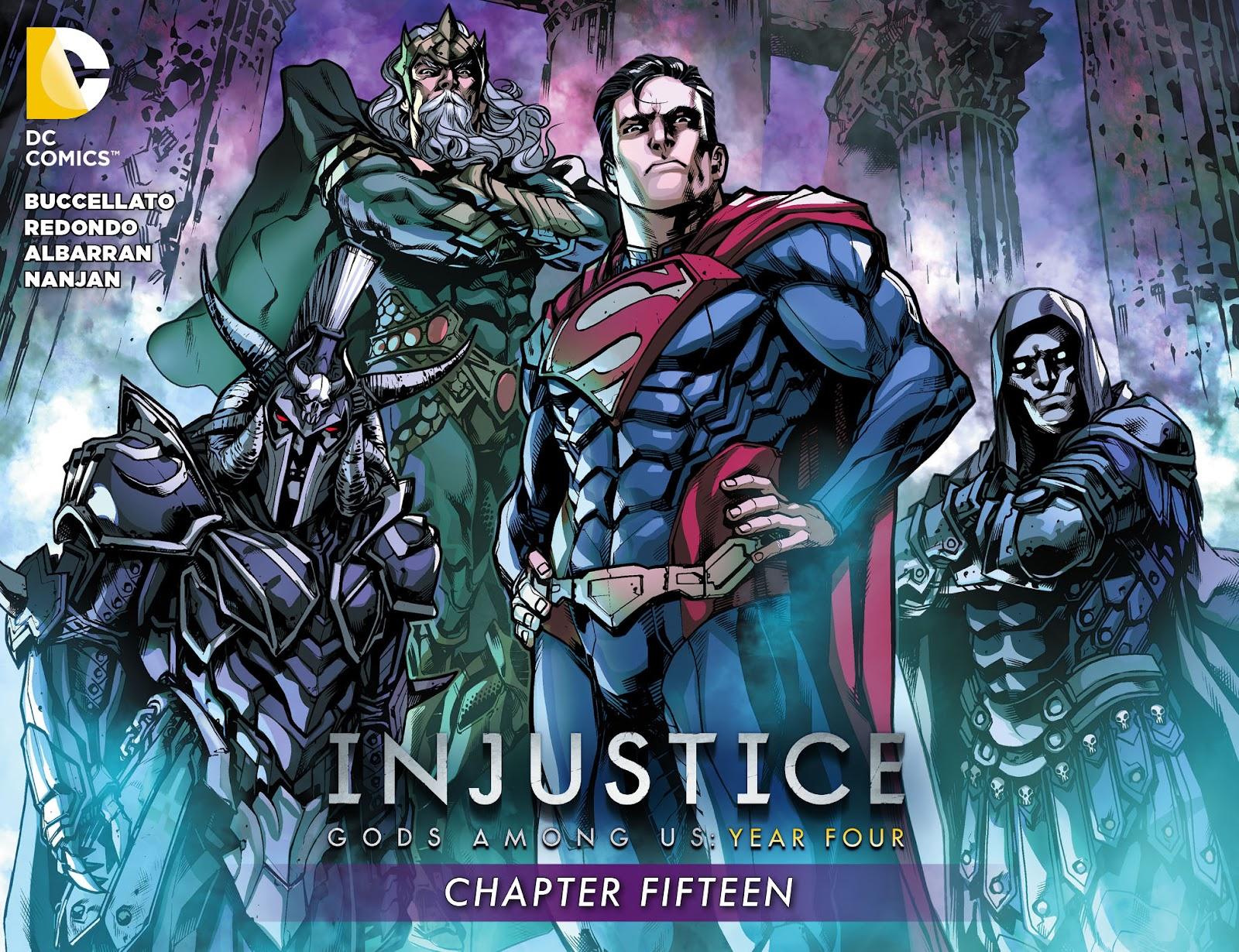 Injustice: Gods Among Us Year Four Issue #15 #16 - English 1