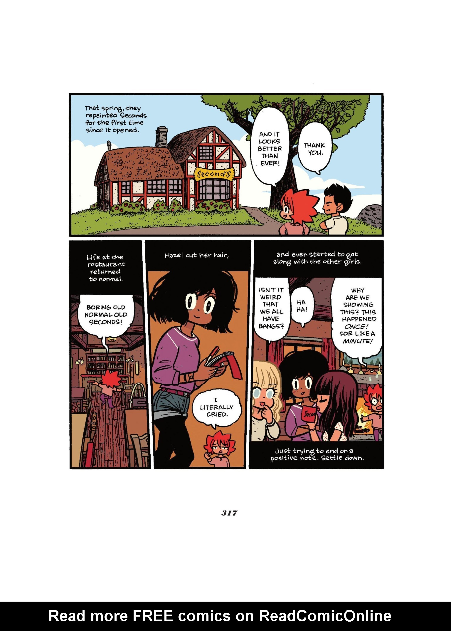 Read online Seconds comic -  Issue # Full - 317