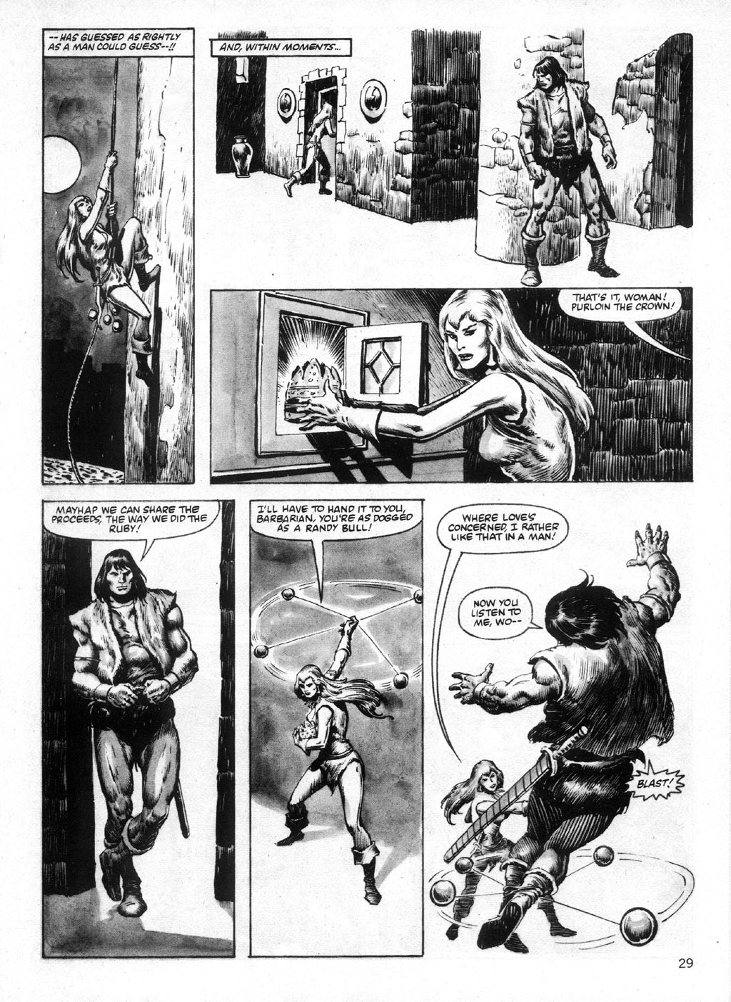 The Savage Sword Of Conan Issue #95 #96 - English 29