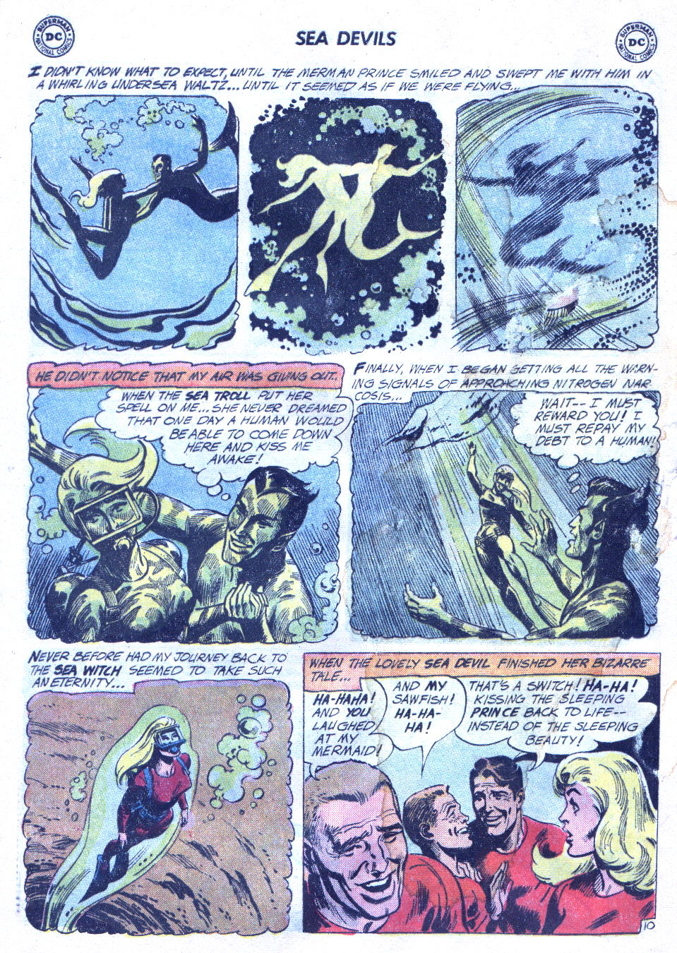 Read online Sea Devils comic -  Issue #4 - 13