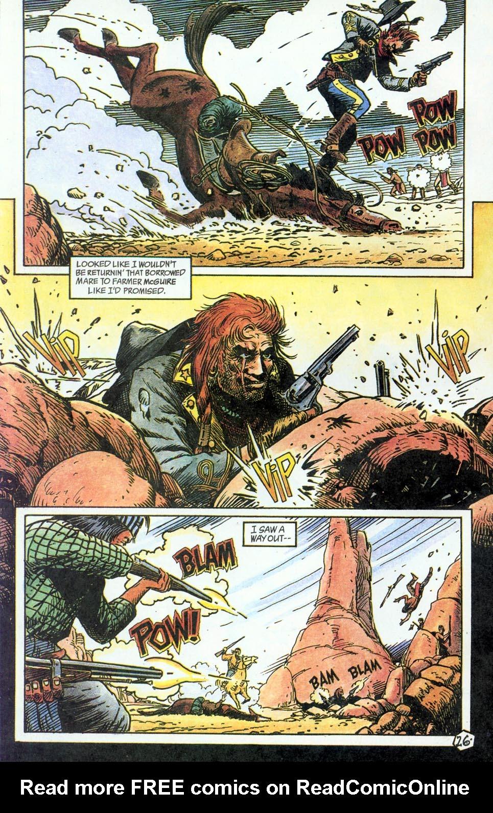 Jonah Hex: Two-Gun Mojo Issue #4 #4 - English 28