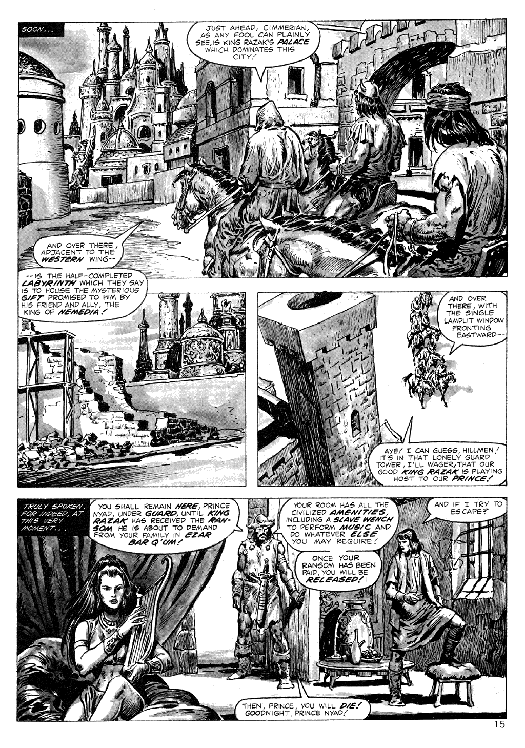 The Savage Sword Of Conan Issue #71 #72 - English 15