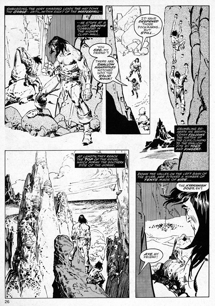 The Savage Sword Of Conan Issue #38 #39 - English 26