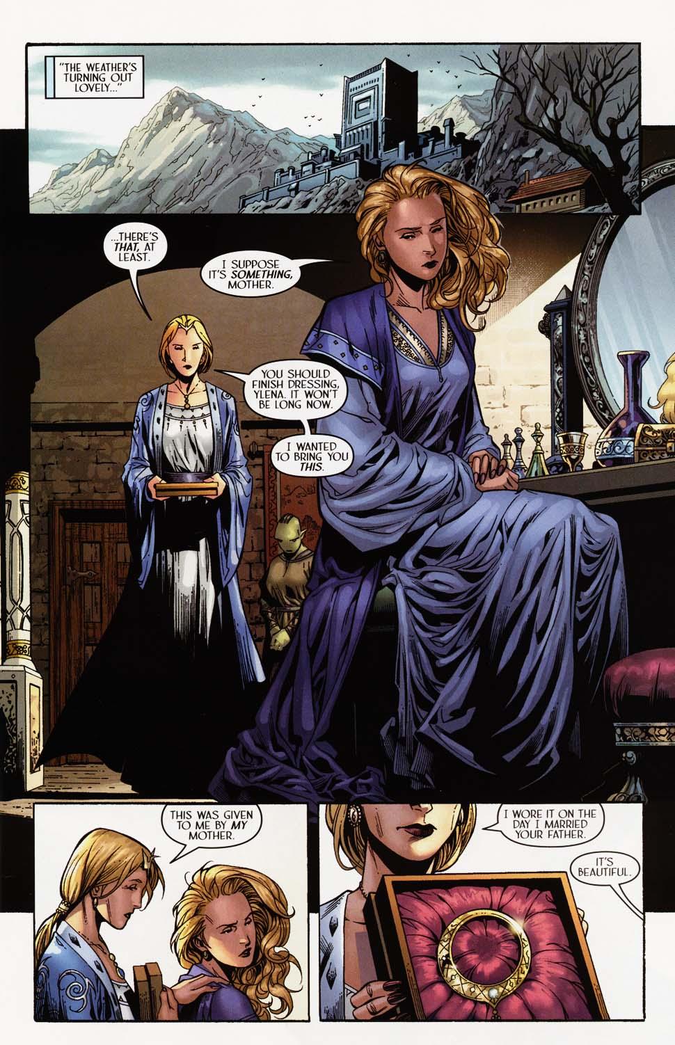 Read online Scion comic -  Issue #35 - 6