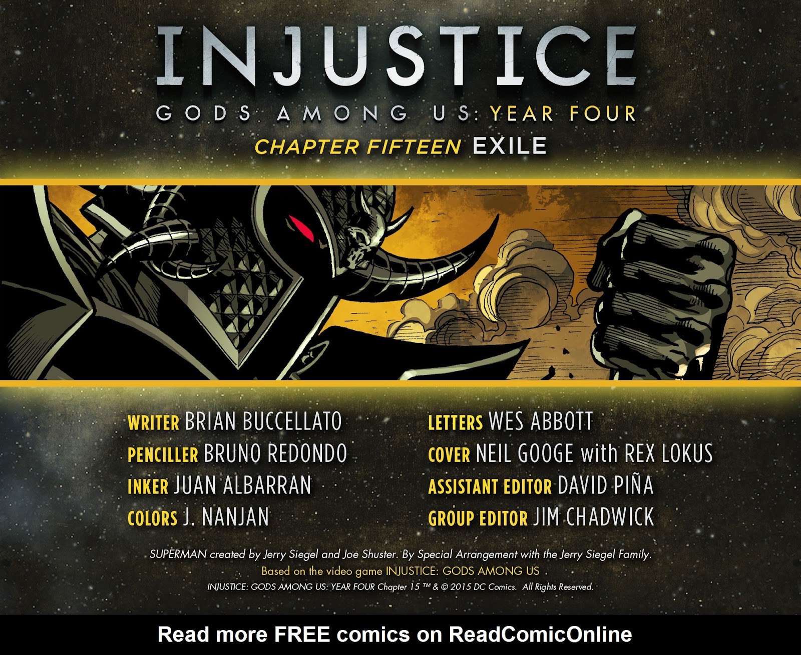 Injustice: Gods Among Us Year Four Issue #15 #16 - English 2