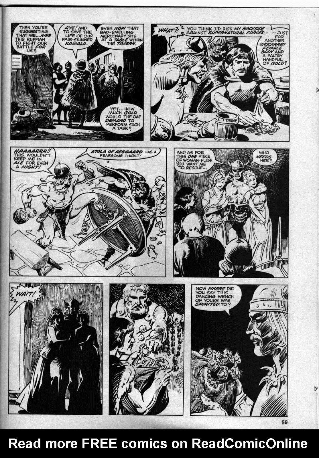 The Savage Sword Of Conan Issue #46 #47 - English 57