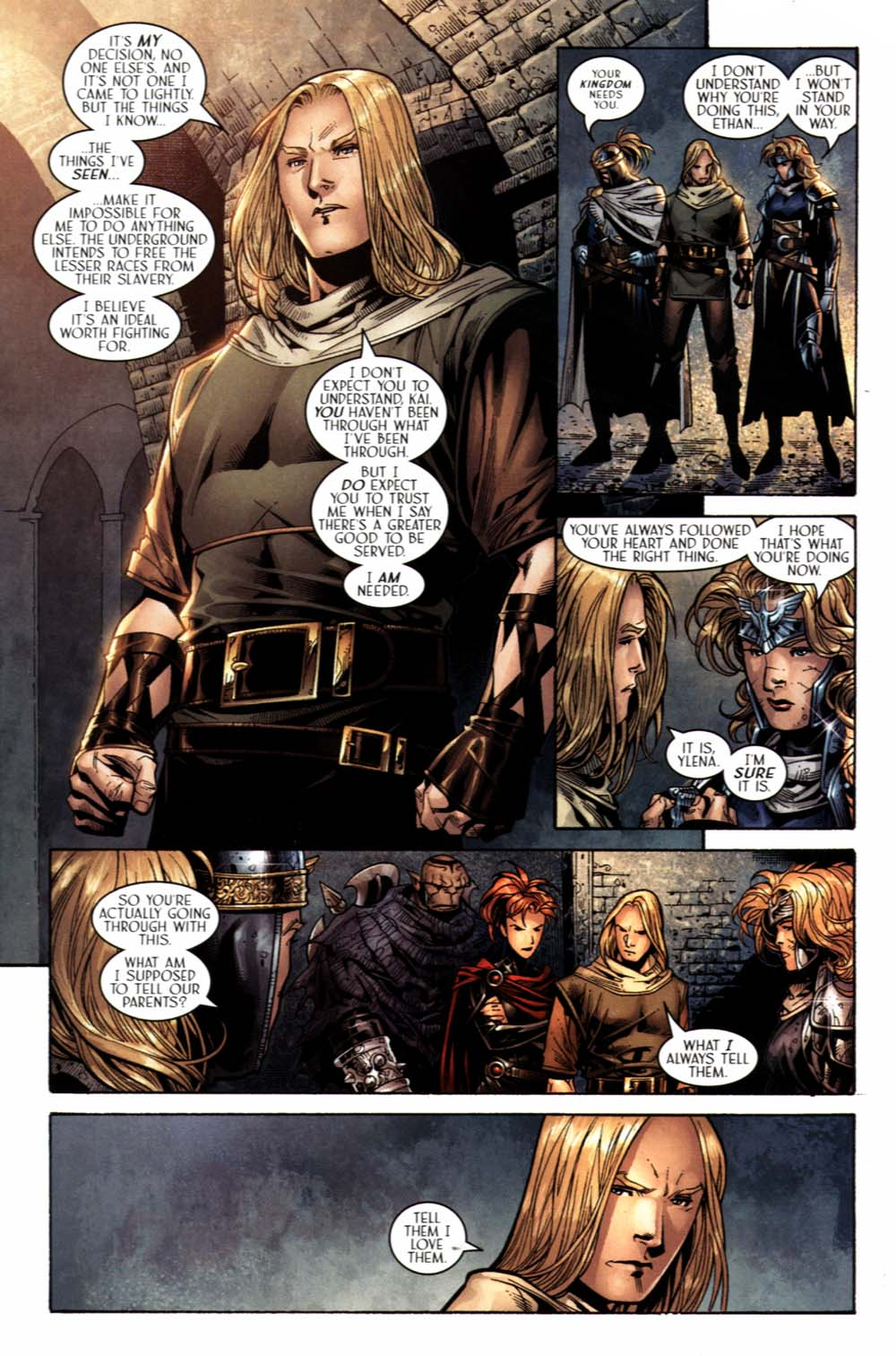 Read online Scion comic -  Issue #19 - 6