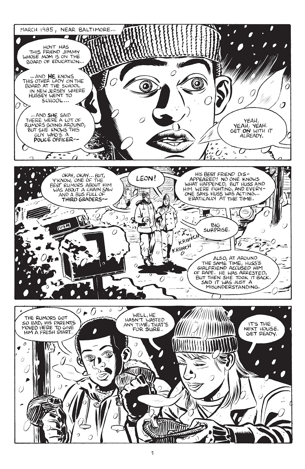 Stray Bullets Issue #38 #38 - English 3