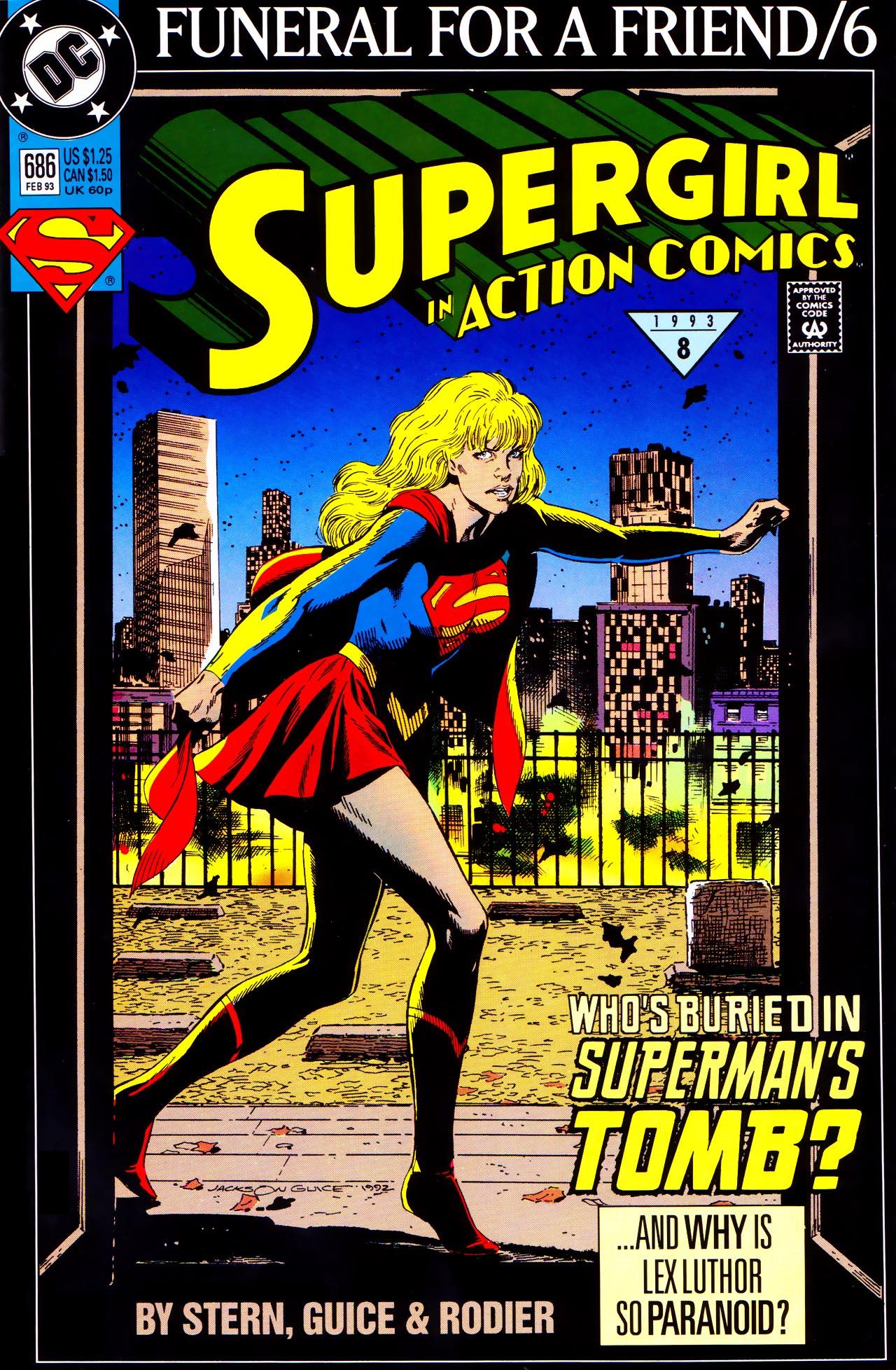 Action Comics (1938) 686 Page 1