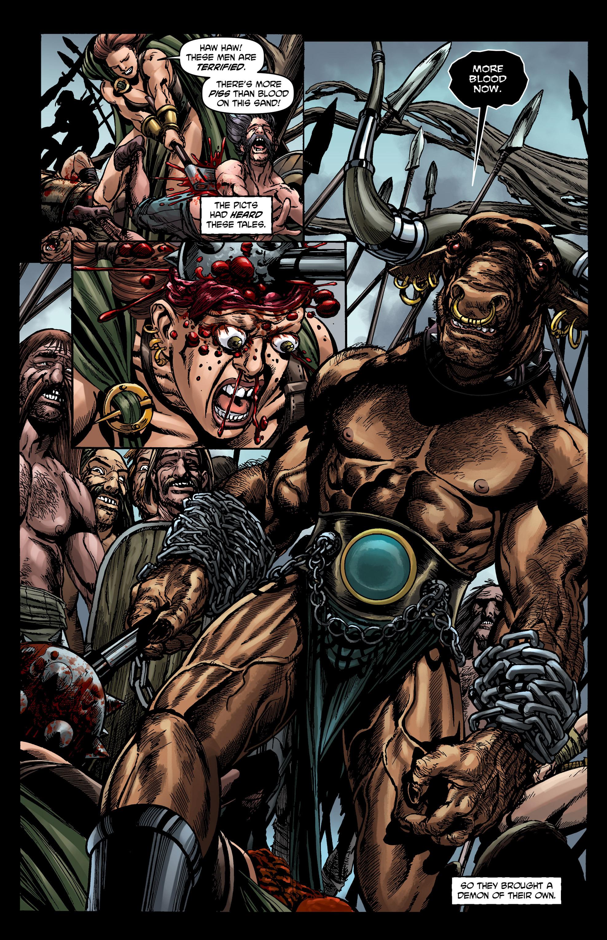 Read online Belladonna comic -  Issue #0 - 5
