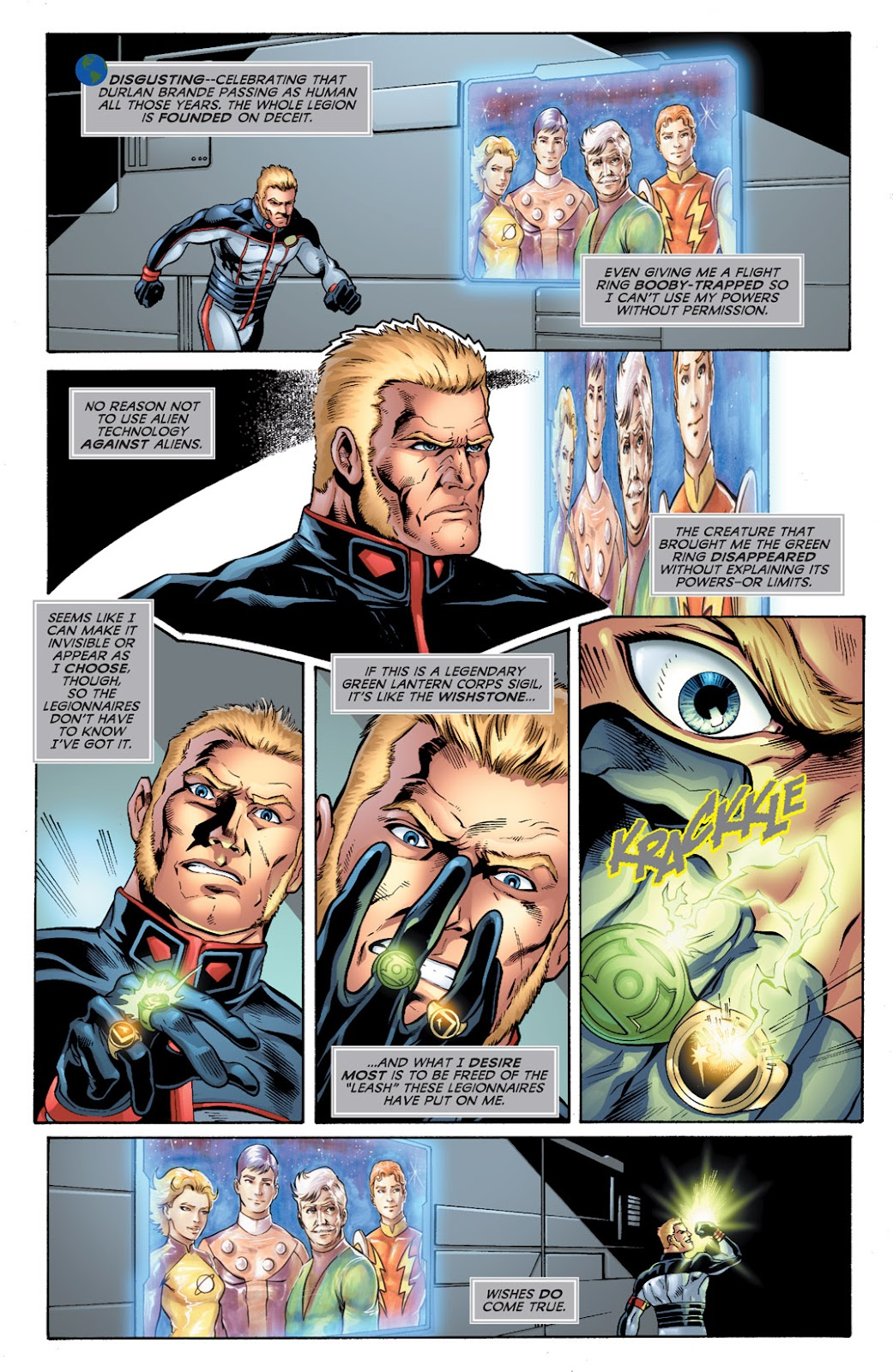 Legion of Super-Heroes (2010) Issue #2 #3 - English 11