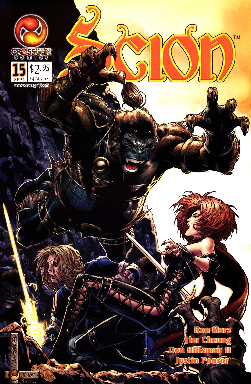 Read online Scion comic -  Issue #15 - 1
