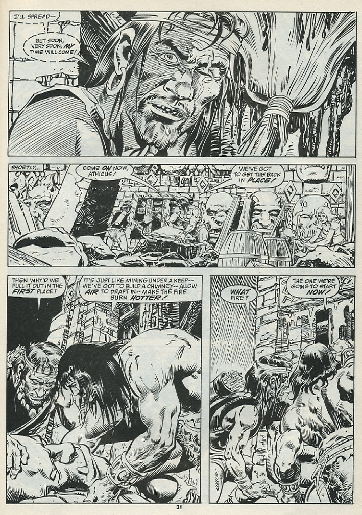 The Savage Sword Of Conan Issue #182 #183 - English 33