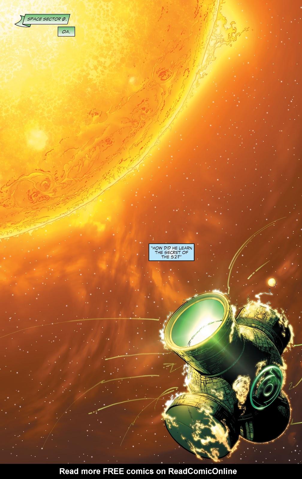 Green Lantern: The Sinestro Corps War Full #1 - English 20