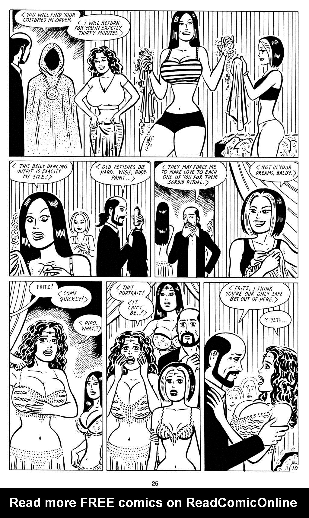 Read online Love and Rockets (2001) comic -  Issue #15 - 27