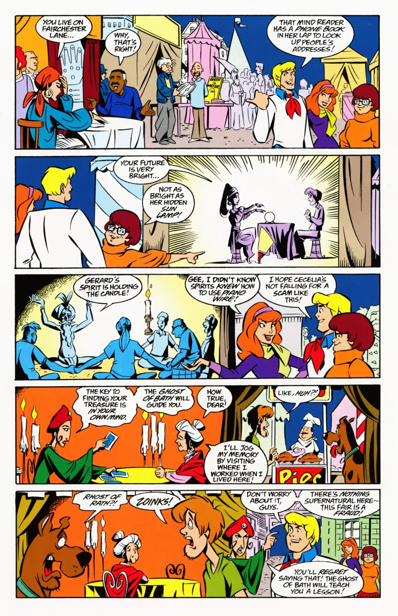 Read online Scooby-Doo: Where Are You? comic -  Issue #8 - 20
