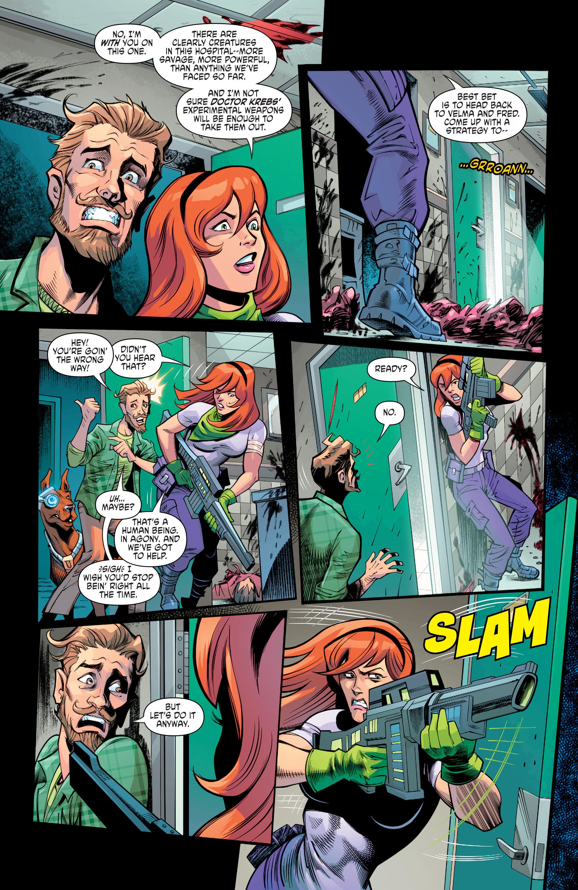 Read online Scooby Apocalypse comic -  Issue #8 - 14