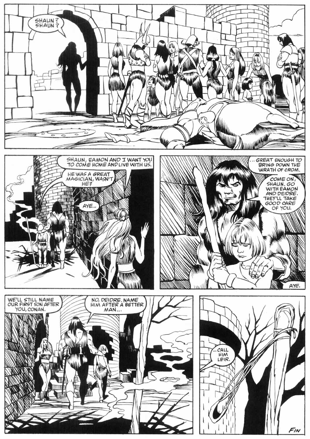 The Savage Sword Of Conan Issue #157 #158 - English 54