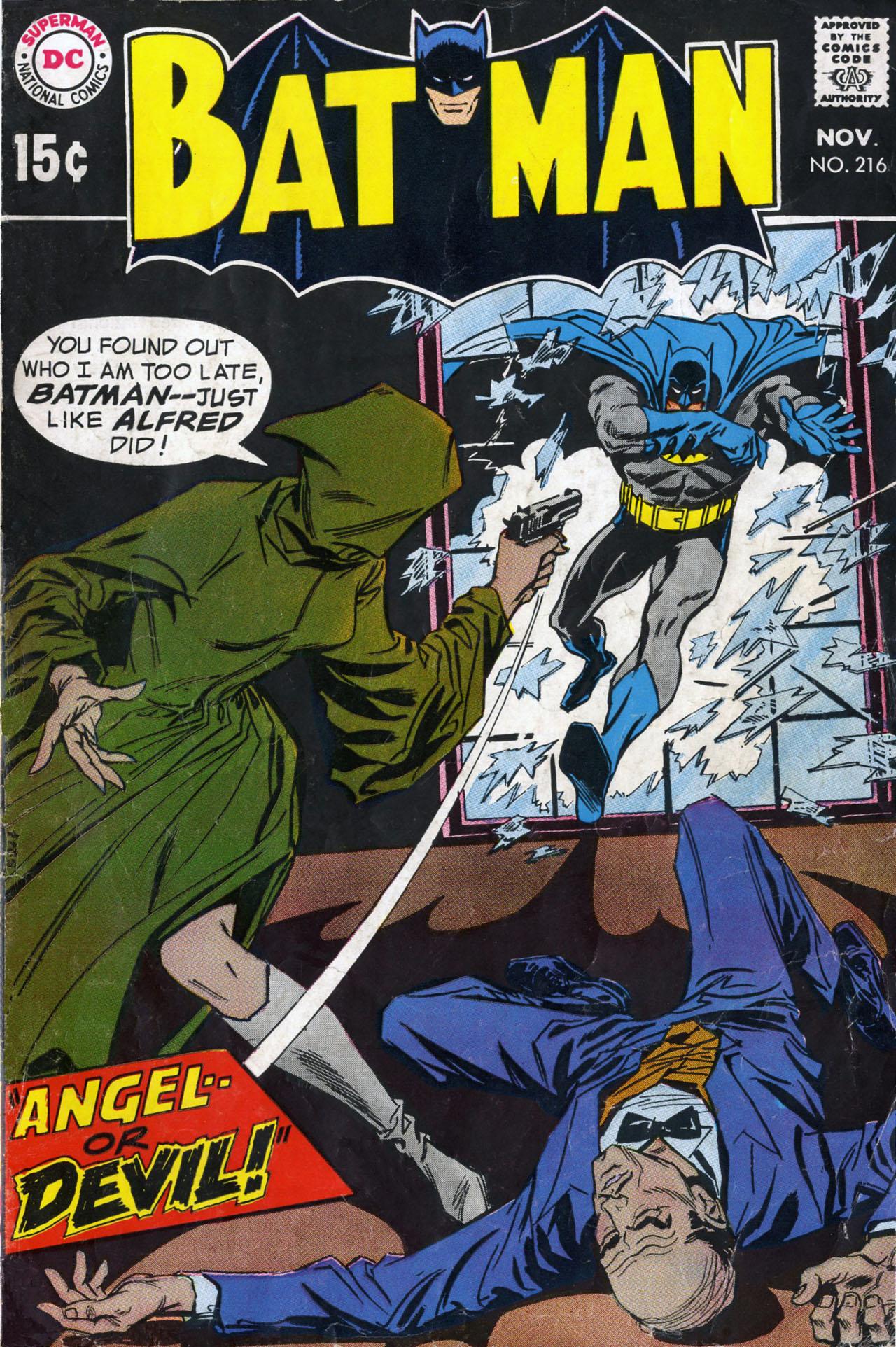 Batman (1940) 216 Page 1