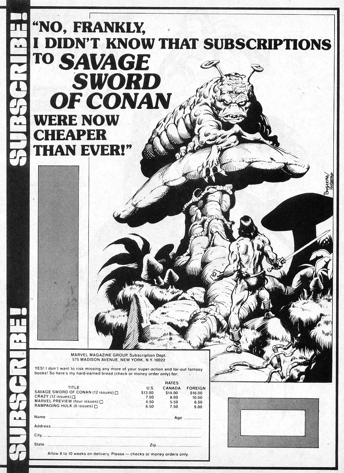 The Savage Sword Of Conan Issue #19 #20 - English 37