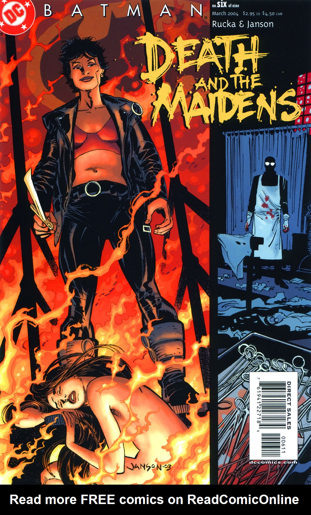 Batman: Death and the Maidens 6 Page 2