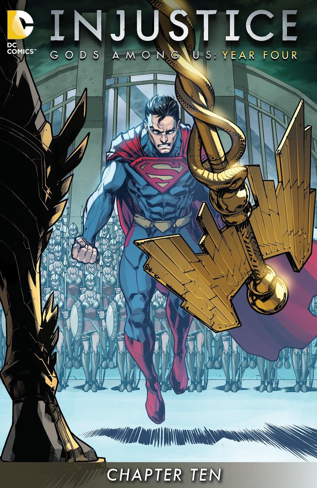 Injustice: Gods Among Us Year Four Issue #10 #11 - English 2