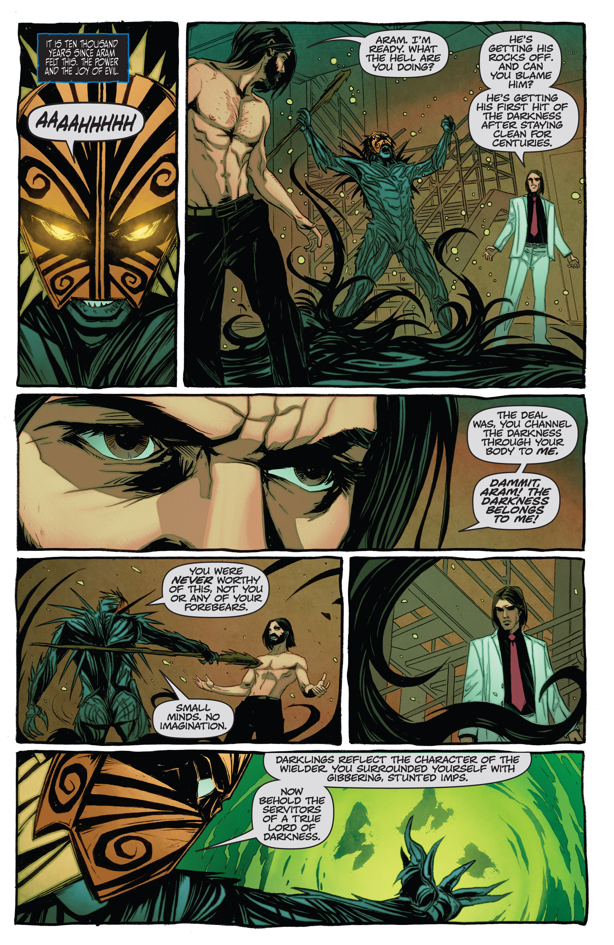 Read online The Darkness (2007) comic -  Issue #115 - 4
