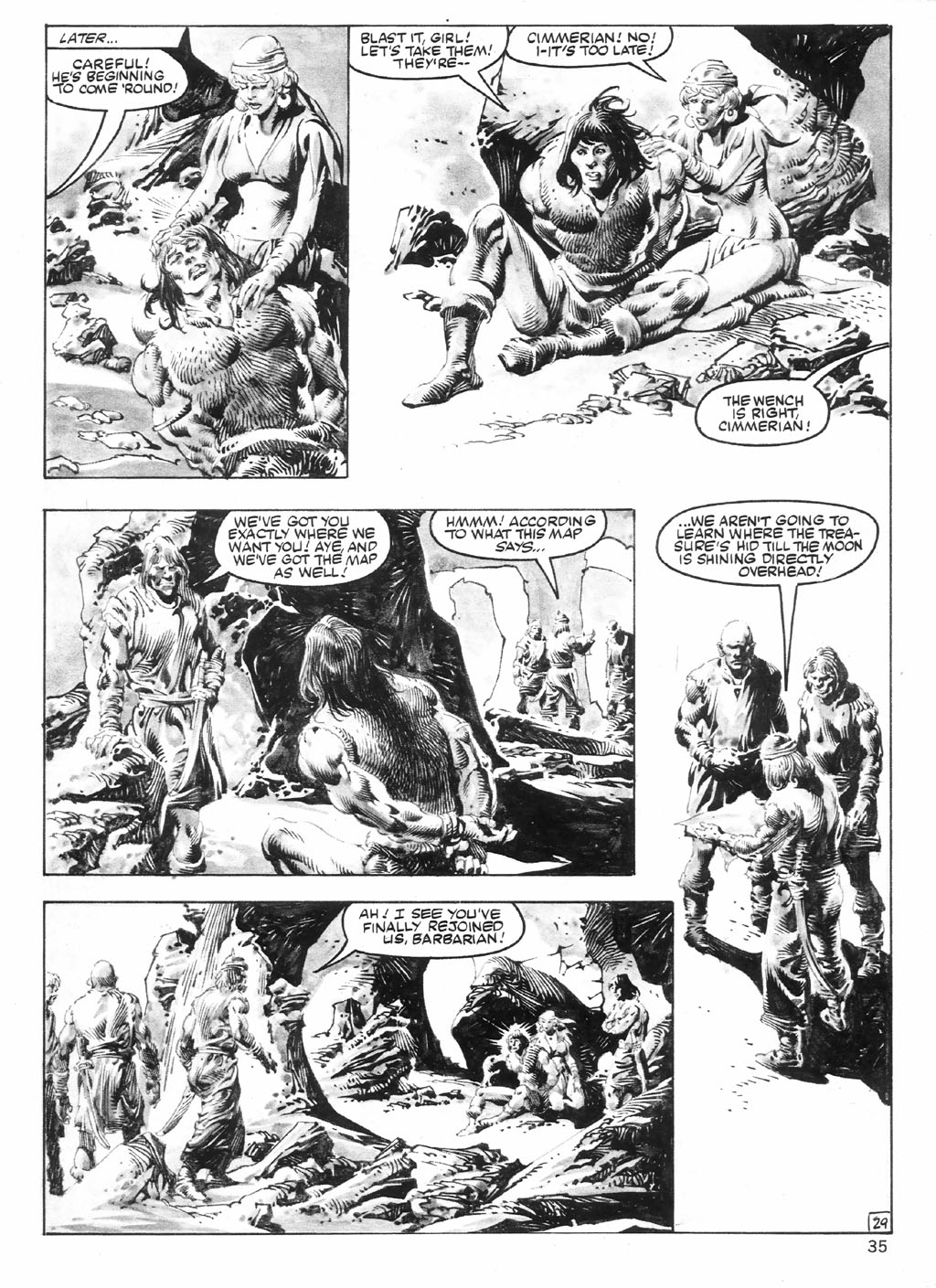The Savage Sword Of Conan Issue #98 #99 - English 35
