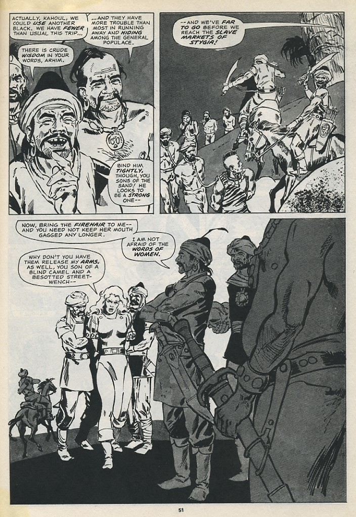 The Savage Sword Of Conan Issue #194 #195 - English 53